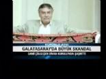 Ahmet Çakar küfürlü atkıyı makasla kesti!