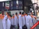 Mekke'de Hacılar Arafat'a Çıktı