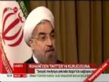 İram Cumhurbaşkanı Hasan Ruhani'den Twitter'ın Kurucusu Jack Dorsey'e Twit
