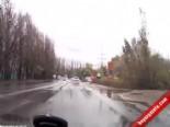 Araç Kamerasından Ölümlü Trafik Kazası