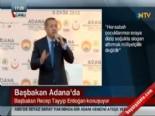 Başbakan Erdoğan Adana'da konuştu: 'Çocuklara slogan attırmak milliyetçilik değil'