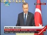 Başbakan Erdoğan'dan Balyoz Açıklaması