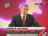 Erdoğan: Atatürk'ü toplumu bölmek için kullanıyorlar