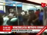 Venezuela'da Metroya Binmek