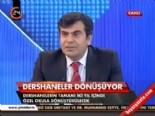 MEB Müsteşarı Yusuf Tekin'den Açıklama (Dersaneler Kapanacak Mı?)