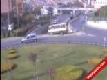 İstanbul'daki Minibüs Faciası Kamerada