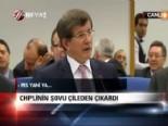 CHP'li Vekilin Esad Benzetmesi Davutoğlu'nu Çıldırttı