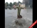 İzmir'de Sağanak Yağmur Hayvanları Da Zor Durumda Bıraktı