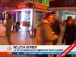 deprem ani - Bolu'da 4,8 Büyüklüğünde Deprem Oldu (25 Kasım 2013)
