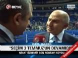 Nihat Özdemir İlk Kez Beyaz Futbol'a Konuştu