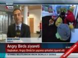 Başbakan Recep Tayyip Erdoğan 'Angry Birds' Oyununu Ziyaret Etti