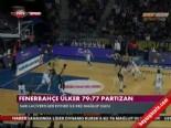 Fenerbahçe Ülker - Partizan: 77-79 Basketbol Maç Özeti