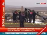 askeri helikopter - Ankara'da Düşen Askeri Helikopterde 2 Asker Öldü