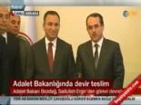 Sadullah Ergin görevini Bekir Bozdağ'a devretti (Adalet Bakanlığı'nda devir teslim)