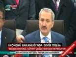 Ekonomi Bakanlığı'nda Devir Teslim (Zafer Çağlayan -Nihat Zeybekçi)