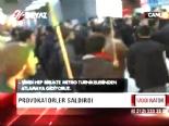 Ankara Metrosu'nu Savaş Alanına Çevirdiler
