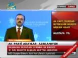 2014 AK Parti Tekirdağ Belediye Başkan Adayı Mustafa Yel