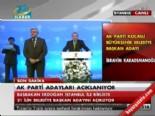 2014 AK Parti Kocaeli Belediye Başkan Adayı İbrahim Karaosmanoğlu