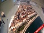 Deniz uçağı'na yerleştirilen kameralardan İstanbul manzaraları