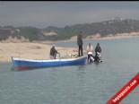 Bisikletle Baraj Gölüne Düşen Çift Boğulma Tehlikesi Atlattı - ADANA