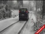Zonguldakta Kar Yağışı