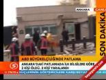 ABD Büyükelçiliği'nde Patlama (İşte Bombanın Patladığı Yer)