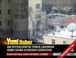 ABD Büyükelçiliği Önündeki Patlamanın Hemen Ardından Çekilen Görüntüler (Ankara'da Patlama)