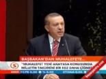 Erdoğan: Millete gideriz