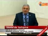 TBMM Genel Kurulu'nda tartışma