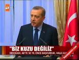 slovakya - Erdoğan: Biz kuzu değiliz