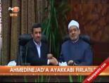 ahmedinejad - Ahmedinejad'a ayakkabı fırlatıldı