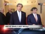 Yabancı gazetecinin İsrail sorusu Davutoğlu'nu çileden çıkardı
