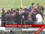Taraftarlar Birbirlerine Taş Yağdırdı ( Feriköy-Kazım Karabekir Mevlana)