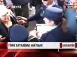 Güney Kıbrıs'ta Türk Bayrağını Yaktılar