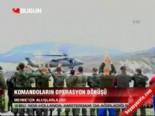 askeri helikopter - Mehmetçik alkışlarla indi