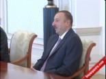 Bakan Veysel Eroğlu,Cumhurbaşkanı İlham Aliyev'le Görüştü.