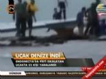 Uçak denize indi  online video izle