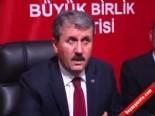 BBP Başkanı Mustafa Destici: Muhsin Yazıcıoğlu'nun ölümü aydınlanacak