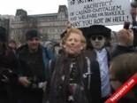 İngiltere Eski Başbakanı Margaret Thacher İçin Trafalgar Meydanında Büyük Bir Parti