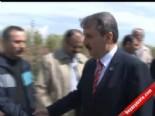 BBP Genel Başkanı Mustafa Destici, Muhsin Yazıcıoğlu Ormanına Fidan Dikti