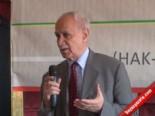 Hak Par Genel Başkanı Kemal Burkay Diyarbakır'da