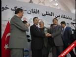 Afgan-Türk Uluslararası Fuarı Kabil'de Açıldı