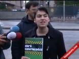 ankara emniyet mudurlugu - Genç - Der Üyeleri YÖK İçin TBMM'de Eylem Yaptı
