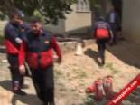 Adana'nın Kozan İlçesinde Yangın