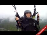 ODAK'lı Dağcılar Uludağ'dan Yamaç Paraşütüyle Uçtu