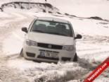 Erzurum'da Kar Yağdı