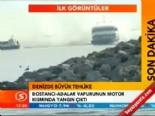 Adalar - Bostancı seferi yapan yolcu teknesinde yangın