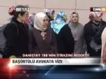 danistay - Başörtülü avukata vize