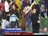 23 Nisan Ulusal Egemenlik Bayramı'nı İlk Olara Otistik Çocuklar Kutladı