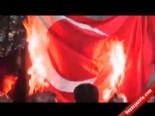 Ermenistan'ın Başkenti Erivan'da Türk Bayrağı Yakıldı